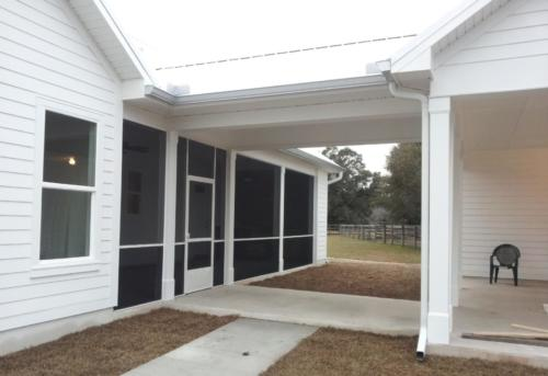 Screened In Porch Gallery Tallahassee S Premier Gutter